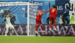 法国1-0比利时首先取得决赛权