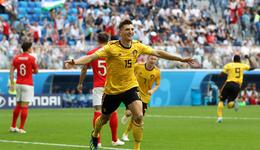 比利时2-0英格兰获季军创历史纪录