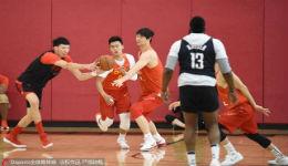 男篮红队在美拉练收获颇丰
