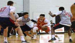从1分绝杀到26分大捷 中国男篮再胜NBA夏联队