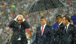 世界杯颁奖典礼尴尬一幕 普京确定霸主地位