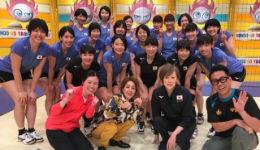 日本女排为突破高大拦网集体赴美集训