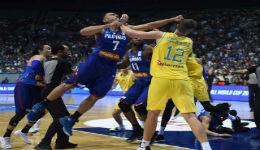 FIBA处罚菲澳斗殴事件结果:15人禁赛罚款242万