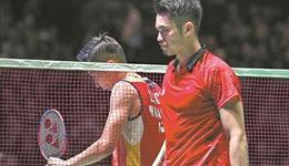 李宗伟因病退赛 林丹为其站台祝福一生的对手