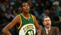 NBA回归西雅图 杜兰特梦始之地