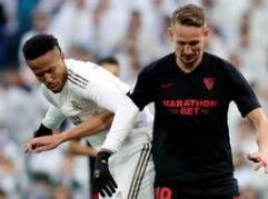 皇家马德里2-1小胜塞维利亚