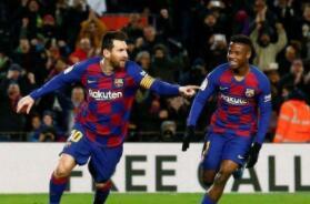 巴萨1-0格拉纳达重回榜首 比达尔助攻梅西制胜
