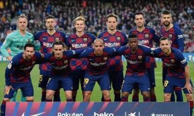 西甲豪门巴塞罗那官方宣布:巴萨一线队降薪70%