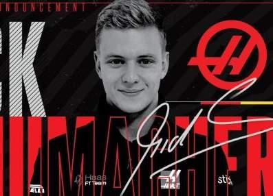 2021年F1赛场又见舒马赫传奇姓氏 舒米儿子米克加盟哈斯
