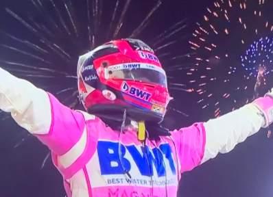 F1萨基尔站梅奔罕见重大失误 佩雷兹夺生涯首冠