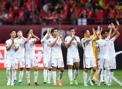 中国足协:国足40强赛剩余比赛将转移至阿联酋迪拜进行