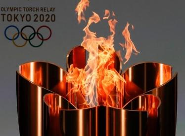 奥运火炬接力进入东京后将改在封闭的场所内举行