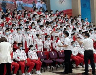 东京奥运会中国体育代表团成立 431名运动员出征