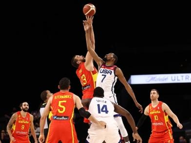 杜兰特14分利拉德19+4+6 美国胜西班牙结束奥运热身