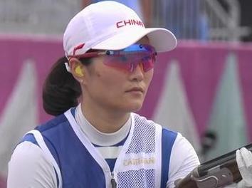 奥运会女子双多向飞碟决赛 魏萌发挥稳定斩获铜牌