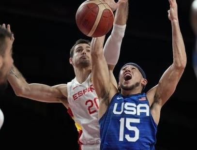 杜兰特29+4卢比奥空砍38分 美国逆转西班牙挺进四强