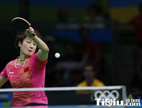 女单丁宁4-0完胜对手进4强 半决赛对阵朝鲜选手