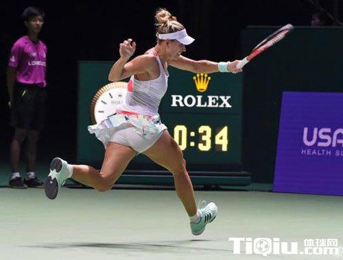 WTA总决赛出现形势 科贝尔两连胜几率最大