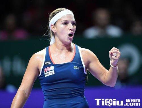 WTA总决赛哈勒普出局 齐娃赢球助科贝尔出线