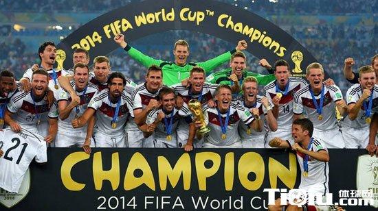 德国世界杯冠军 2014巴西世界杯德国夺冠图片