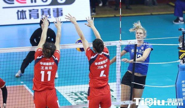 惠若琪江苏全国女排联赛夺冠 其他各队表现如何