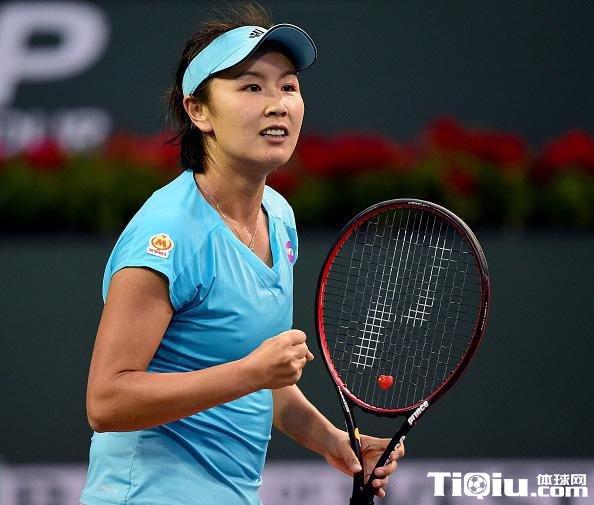 WTA正赛第三轮 中国金花彭帅不敌斯托瑟遗憾淘汰