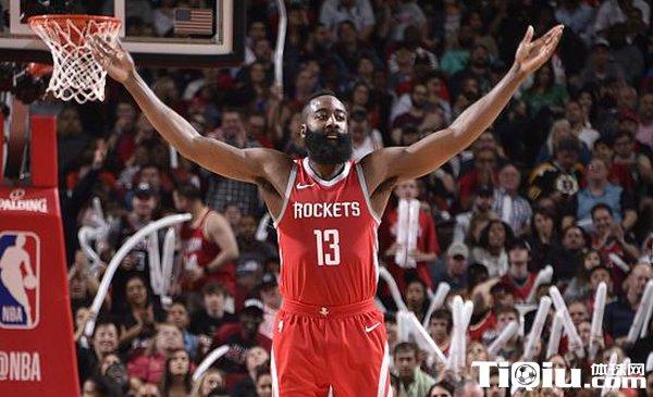 NBA官方实力榜火箭第一 勇士紧随其后