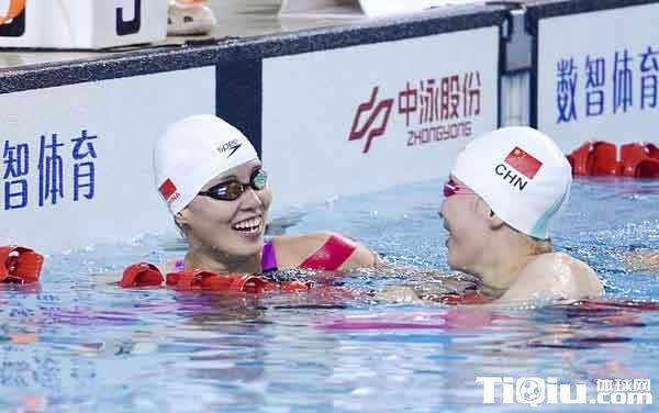 冠军赛傅园慧进账第二枚奖牌 100米仰泳并列摘铜